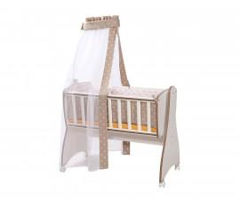 Комплект за бебешка люлка Lorelli Text First Dreams Ранфорс, корони лате 20051164801
