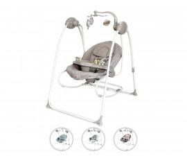 Електрическа бебешка люлка за новородено до 9кг Lorelli Tango, асортимент 10090072150