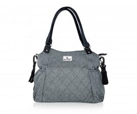 Чанта за количка за бебешки и детски аксесоари с термоизолатор Lorelli Kristin, Grey 10040270001