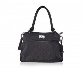 Чанта за количка за бебешки и детски аксесоари с термоизолатор Lorelli Kristin, Black 10040270002