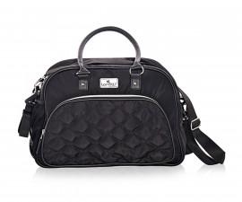 Чанта за количка за бебешки и детски аксесоари с термоджоб Lorelli Viola, Black 10040280002