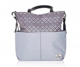 Чанта за количка за бебешки и детски аксесоари с термоизолатор Lorelli Laura, Grey 10040240001