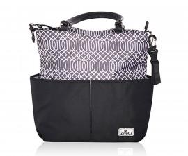 Чанта за количка за бебешки и детски аксесоари с термоизолатор Lorelli Laura, Black 10040240002
