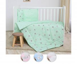Бебешки спален комплект от 4 части Lorelli Ранфорс, асортимент 2080002