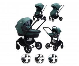 Комбинирана бебешка количка с обръщаща се седалка за деца до 22кг Lorelli Ramona, асортимент 10021682190