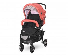 Бебешка количка с покривало Lorelli Martina, Black & Ginger Orange 10021712181