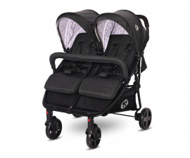 Бебешка количка за близнаци с чанта Lorelli Duo, Black Dots 10021542106