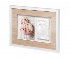 Комплект бебешки отпечатъци Baby Art Wall Print, цвят на рамката Stormy BA.00035.006