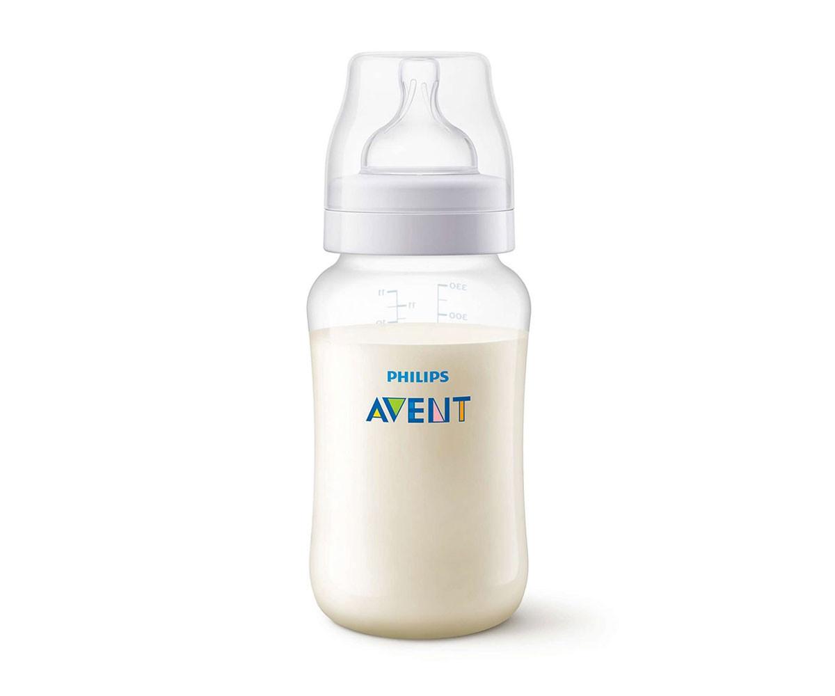 Бебешко шише за хранене и пиене Philips-Avent Classic Anti-colic BPA Free, 330 мл, PP