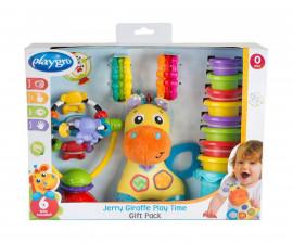 Подаръчен комплект от детски играчки Playgro, жирафчето Джери
