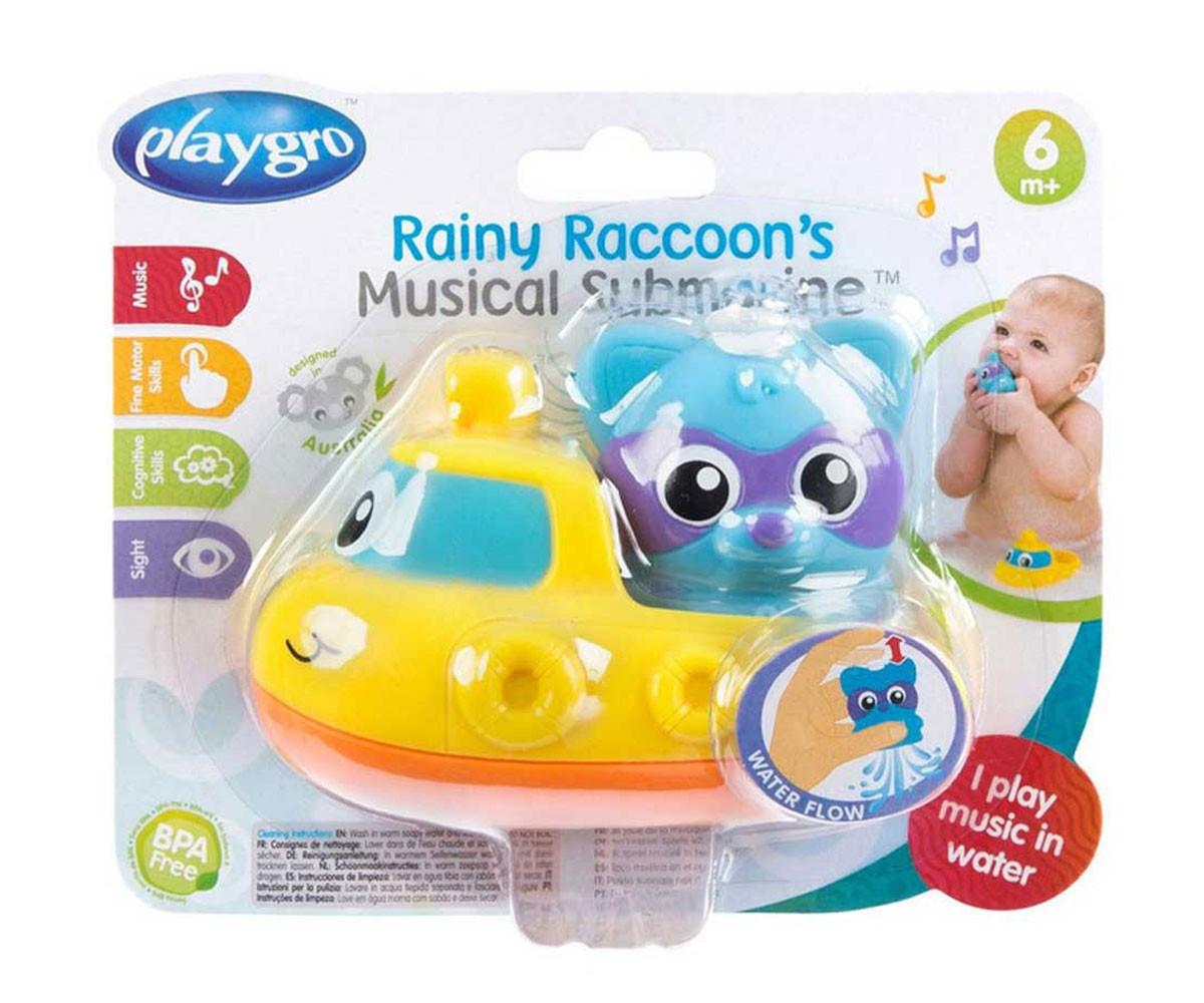 Детска играчка музикална подводница за баня Playgro