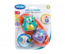 Детска играчка кану за баня Playgro, със светлини и термо сензор