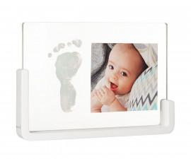 Отпечатък с боички и снимка Baby Art, прозрачен (Transparent)