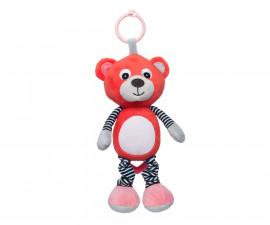 Мека музикална играчка Canpol Bears, корал 68/053_cor