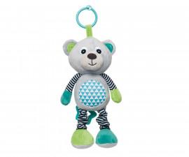Мека музикална играчка Canpol Bears, сива 68/053_gry