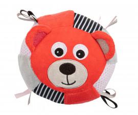 Плюшена топка Canpol Bears, корал 68/074_cor