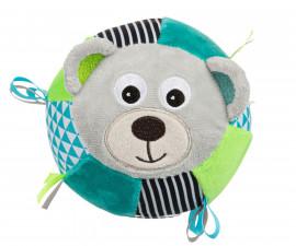 Плюшена топка Canpol Bears, сива 68/074_gry