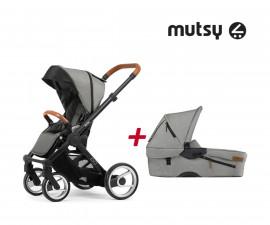 Бебешки колички Mutsy MT -0410.003 -ПАКЕТ EVO UN d.grey-01