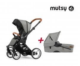 Бебешки колички Mutsy MT -0410.003 -ПАКЕТ EVO UN l.grey-01