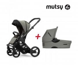 Бебешки колички Mutsy MT -0411 -ПАКЕТ EVO BOdu.grey-01