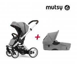 Бебешки колички Mutsy MT -0412.001 -ПАКЕТ EVO FA mist -01