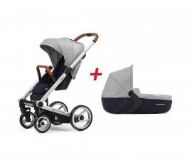 Бебешки колички;Модули за колички; Mutsy MT -0421 -ПАКЕТ i2 PURE fog -01