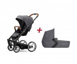 Бебешки колички;Модули за колички; Mutsy MT -0422 -ПАКЕТ i2 HE s. grey-01
