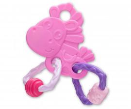 Гризалка кончето Хоп Троп Playgro, розов цвят PG.0335