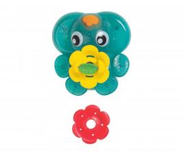 Детска играчка светещ фонтан за баня Playgro, слонче