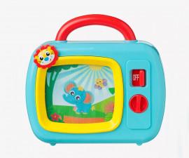Детска активна играчка Playgro, музикална кутия с телевизор