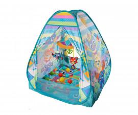 Музикалана активна гимнастика с топки Play Gro, типи палатка