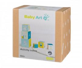 Активни кубчета за кула с отпечатъци с боички Baby Art BA.00072.001