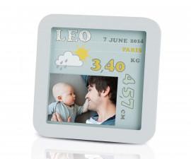 Комплект бебешка рамка за снимки Моят рожден ден Baby Art BA.00045.001