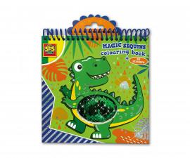 SES 00116 - Книжка за оцветяване с пайети