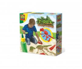 Детска играчка за рисуване и оцветяване - СЕС - Пясък за оцветяване Т-Рекс