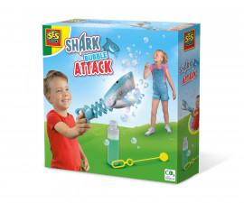SES 02265 - Комплект за сапунени балони - Нападение на акула