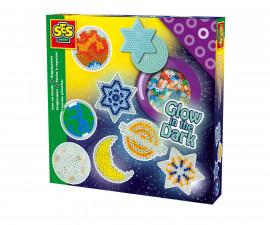 Комплект мъниста за деца светещи звезди СЕС