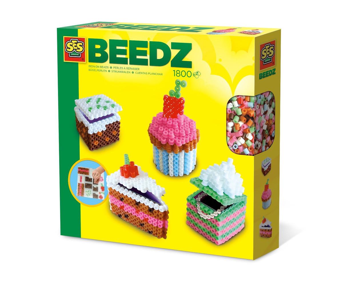 Комплект мъниста за деца 3Д кексчета СЕС