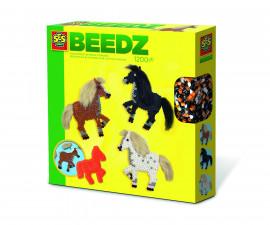 Комплект мъниста за деца коне с грива СЕС