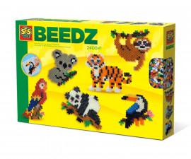 Комплект мъниста за деца животни от джунглата СЕС
