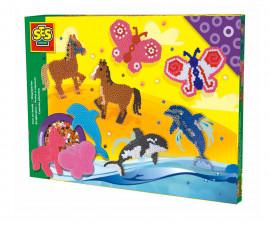 Комплект мъниста за деца кон, пеперуда, делфин СЕС