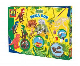 Комплект мъниста за деца динозаври СЕС