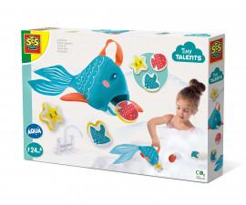 SES 13086 - Играчка за баня - Гладна риба