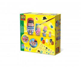 Детска играчка за рисуване и оцветяване - СЕС - Оцветяване на матрьошки