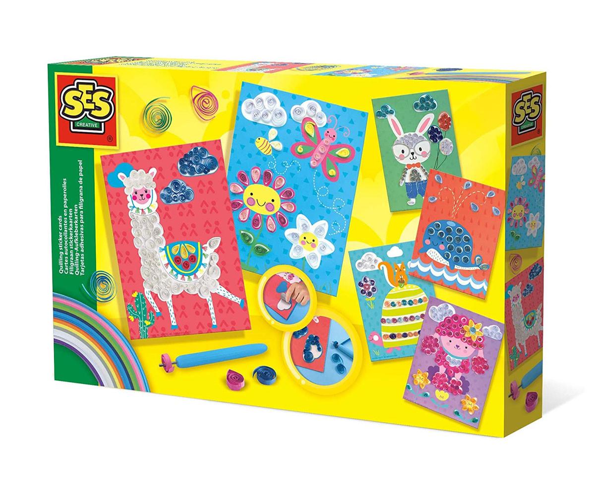 Детски карти със стикери SES