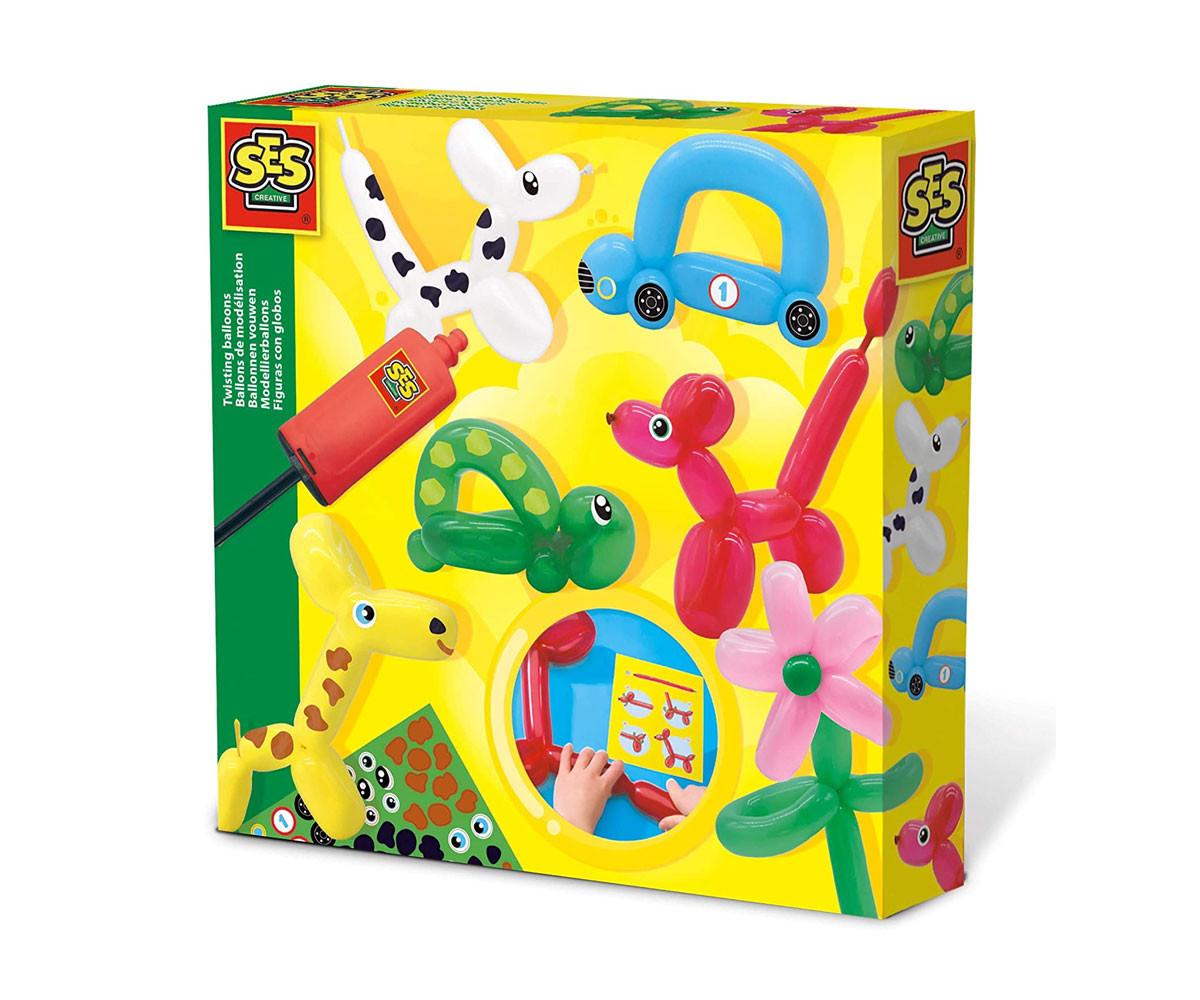 Детски играчки извиващи се балони SES