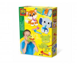 Детски комплект за игра - Маска със свирка СЕС