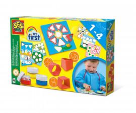 Детска играчка за рисуване и оцветяване - СЕС - Печати с пръсти