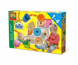 Детска играчка - работилница, инструменти - СЕС - Научи формите