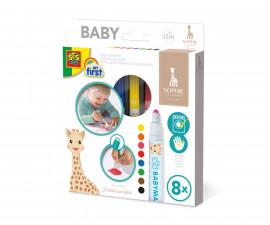 Маркери за бебета жирафчето Софи SES